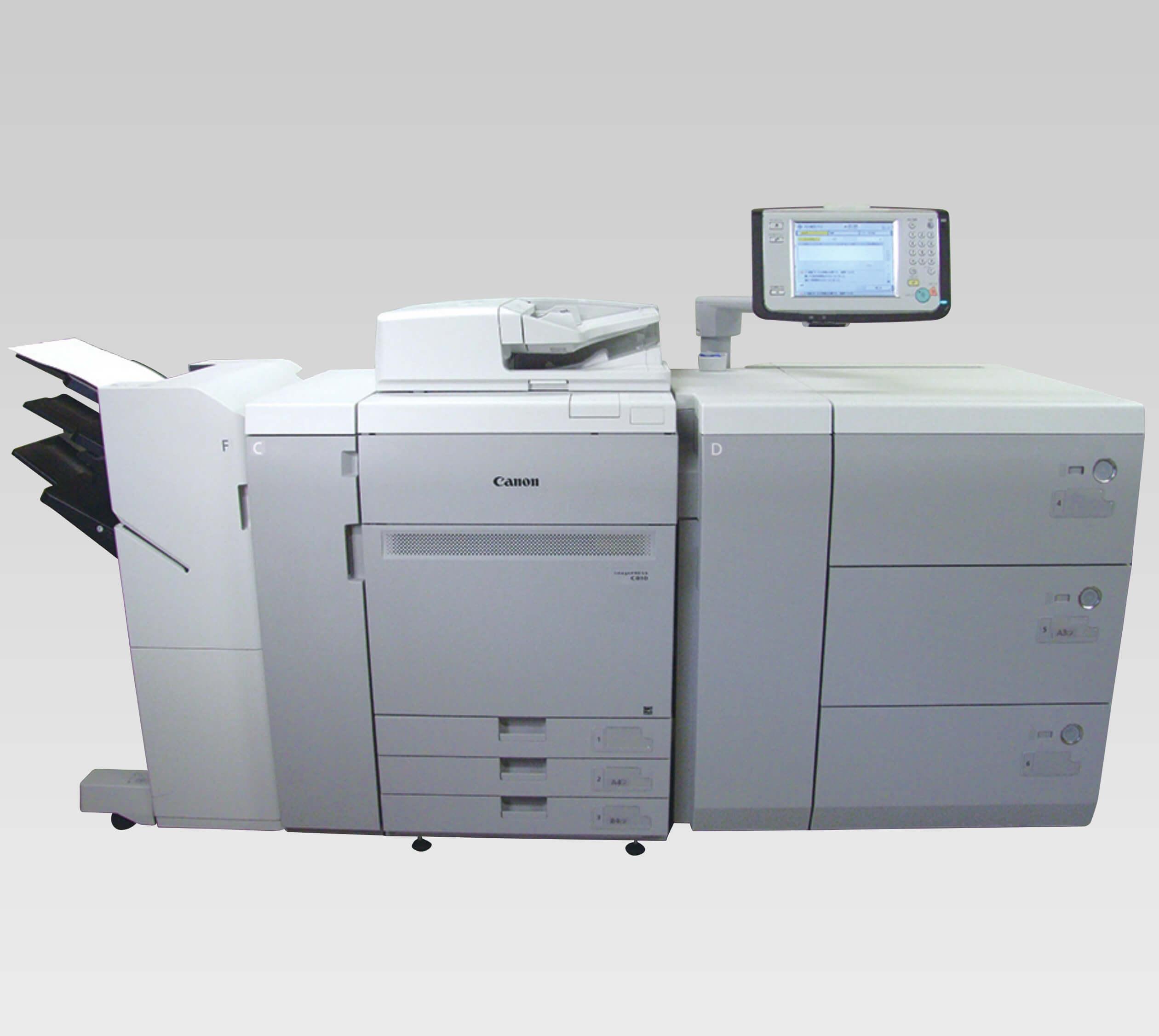 POD(オンデマンド印刷機)